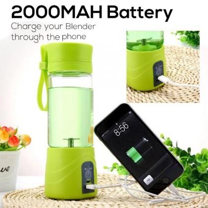 Biziborong 2 / 4 / 6 Blade USB Chargeable Shake N Take Fruit Mixer Juice Blender - R399
