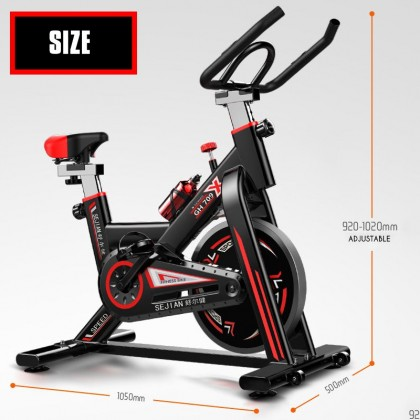 Biziborong Gym Fitness Indoor Home Bicycle Exercise Cardio Bike - R818