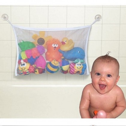 Biziborong Baby Bathtub Bathroom Toy Storage Mesh Net Holder  R509