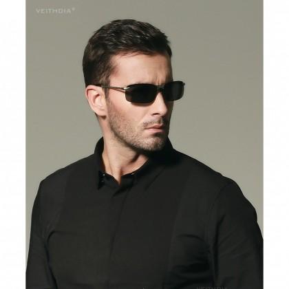 Biziborong Veithdia Men's UV Protection Polarised Lens Sunglasses Set R686
