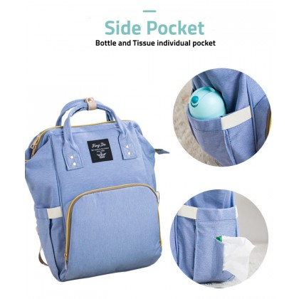 Biziborong Mummy Diaper Milk Bottle Bag Backpack Shoulder Beg Women Travel R944