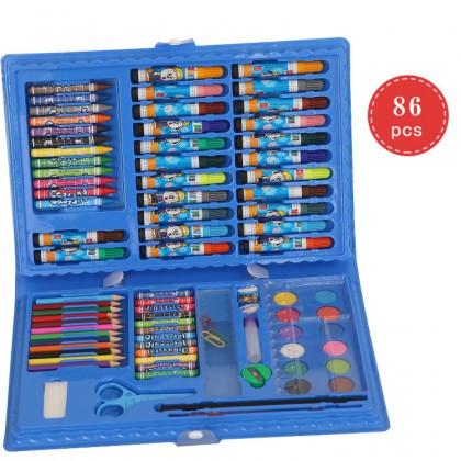 Biziborong 86pcs Kids Painting Watercolor Color Pencil Art Drawing Set R964