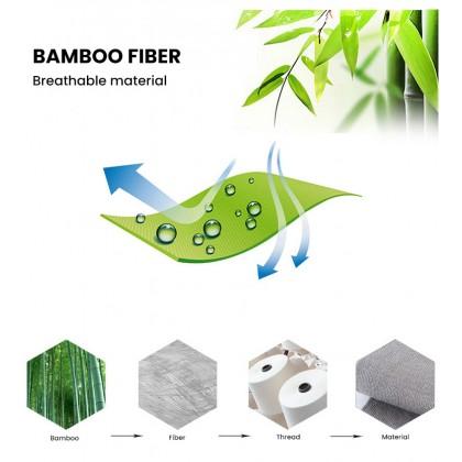 Biziborong 1 / 3 Pairs Set Men Sock Bamboo Fiber Socks Comfort Soft R694
