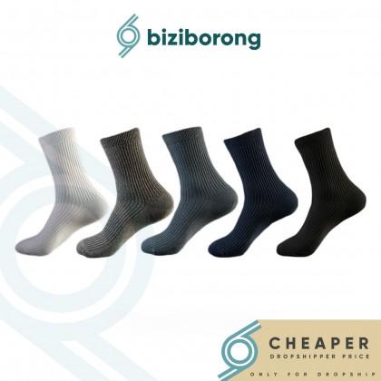 Biziborong 1 Pair Set Men Sock Cotton Socks  R693