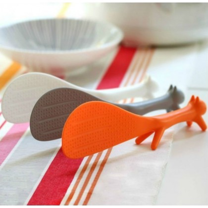 Biziborong Squirrel Non Stick Stand Rice Cooker Spoon Kitchen Tool - R974