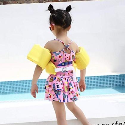 Biziborong Kids Safety Swimming Swim Arm Chest Float Vest - R1011