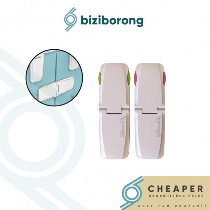 Biziborong Folding Door Lock Safety Drawer Cabinet Baby Kids - RA19