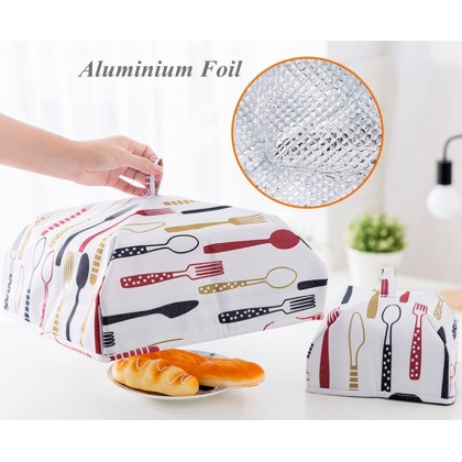 Biziborong Insulated Foldable Thermal Food Cover with Aluminium Foil - RA1