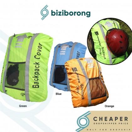 Biziborong Waterproof Backpack Bag Rain Cover with Reflective Strap (25L - 40L) - RA66