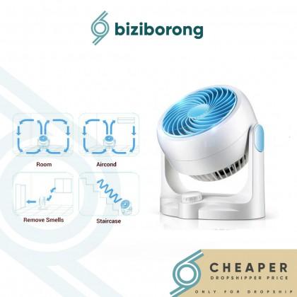 Biziborong Silent Atmospheric Ventilation Floor Desktop Cooler Air Circulation Fan - RA96