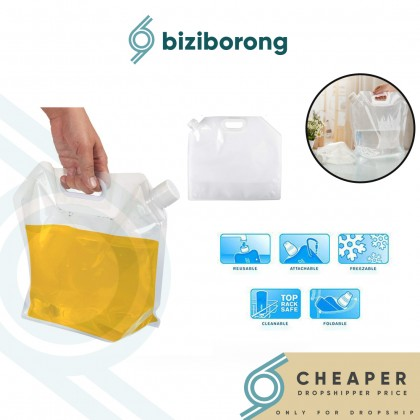 Biziborong 5L/10L/15L Collapsible Foldable Outdoor Water Container Storage Portable Bag - RB02