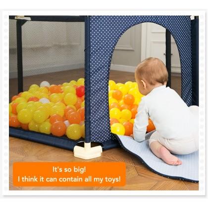 Biziborong Hexagon Play Fence Safety Yard Kids Baby Playpen - RA24