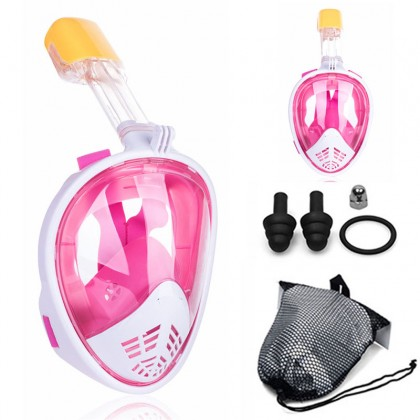 Biziborong Youth Adult Swimming Diving Snorkel Full Face Mask - RB28