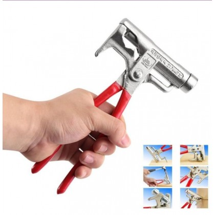 Biziborong Magic Tool Multi Function Steel Hammer Screwdriver Nail Puller Wrench - RB51