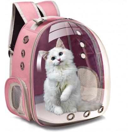 Biziborong Pet Carrier Capsule Travel Backpack Outdoor Bag Dog Cat - R986
