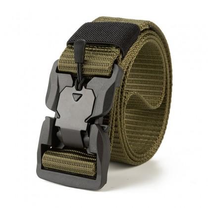 Biziborong Magnetic Closure Buckle Army Men Tactical Belt Military Taktikal Tali Pinggang Lelaki - RE74