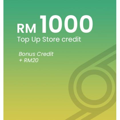 [RM1000] Top Up Biziborong Store Credit
