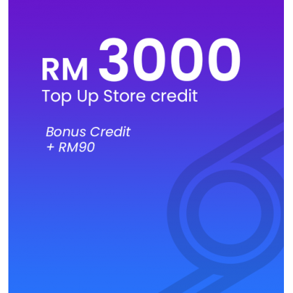[RM3000] Top Up Biziborong Store Credit