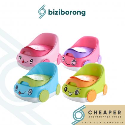 Biziborong Car Baby Portable Early Learning Potty Urinal Training Simulation Toilet Seat Sit Pot Kids - RF80