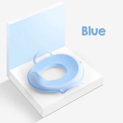 Biziborong Baby Children Kids Potty Training Toilet Seat with Handle Fit Toilet Bowl Chair - RF81