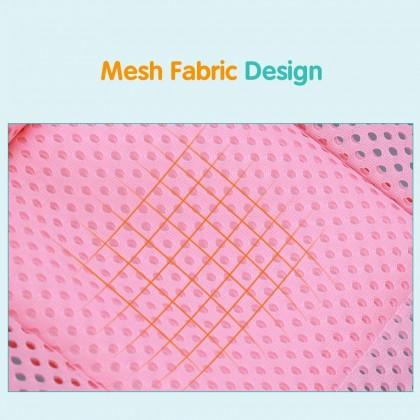 Biziborong Baby Bath Tub Net Newborn Mesh Net Safety Seat Support Care Shower Bath Bed - RF87