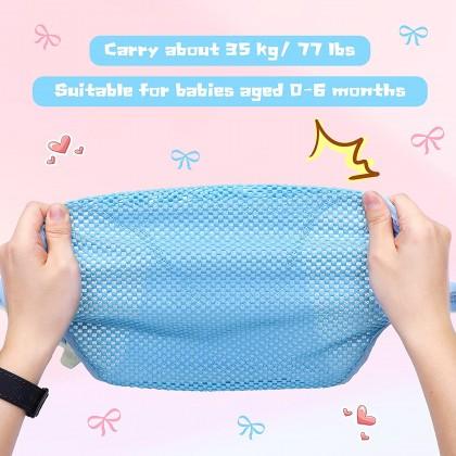 Biziborong Baby Bath Tub Net Newborn Mesh Net Safety Seat Support Care Shower Bath Bed - RF78