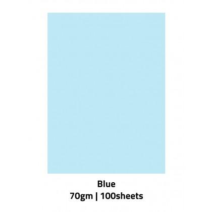 Biziborong A4 Colour Paper 70gsm 100 Sheets Color Pastel Printing Art Craft School - AT006